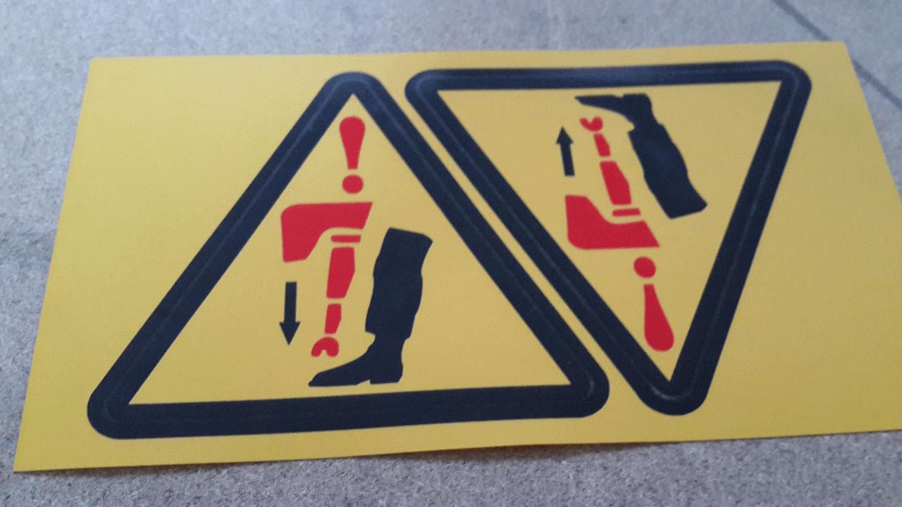PVC Uyarı Etiketi