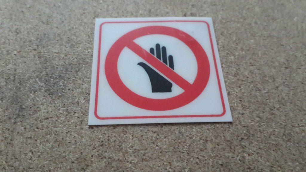 Leksan Uyarı Etiketi 3m Bantlı