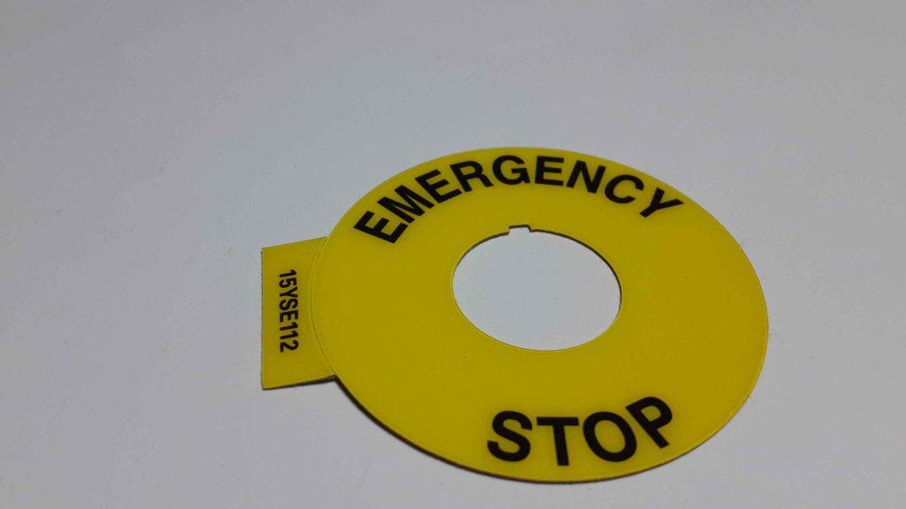 Acil Stop Leksan Etiket
