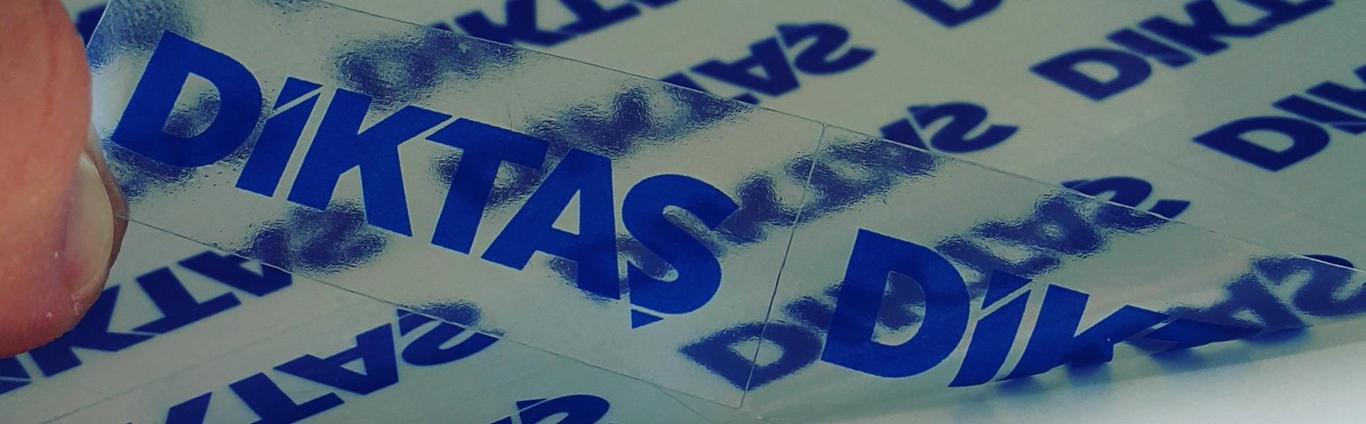<p>Şeffaf ters baskı cam etiketleri</p>