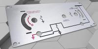 Alüminyum Makine Kontrol Panel Baskısı