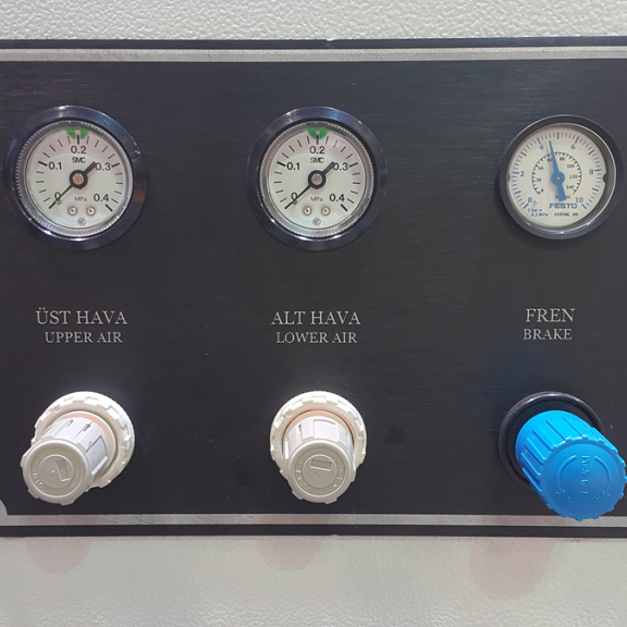 Makine Panel Lazer Kazıma